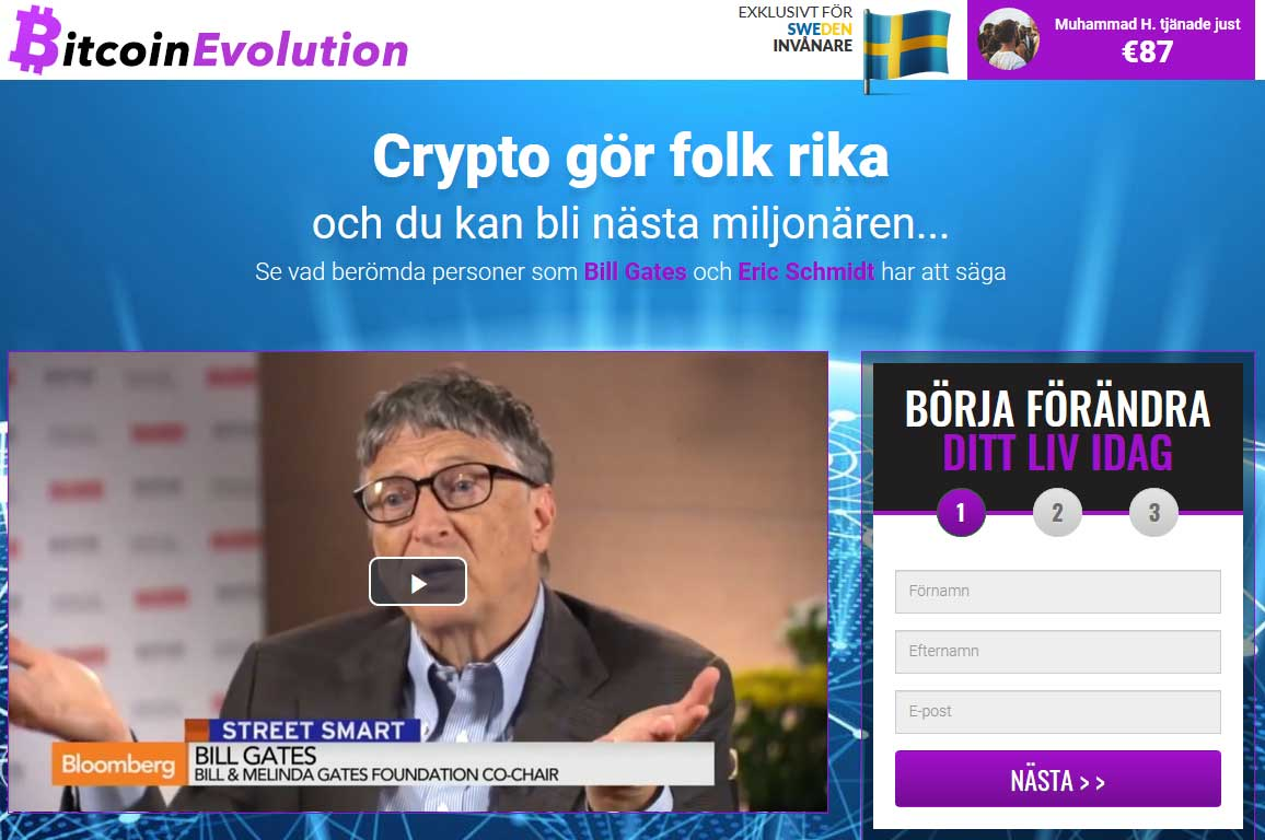 Bitcoin Evolution Recension