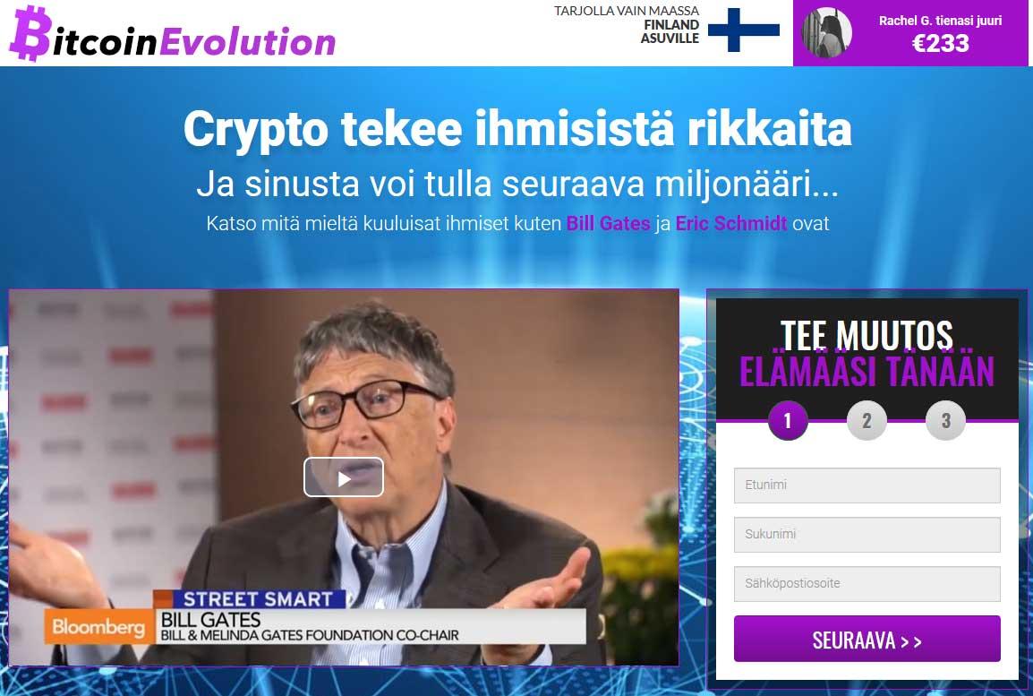 Bitcoin Evolution Kokemuksia