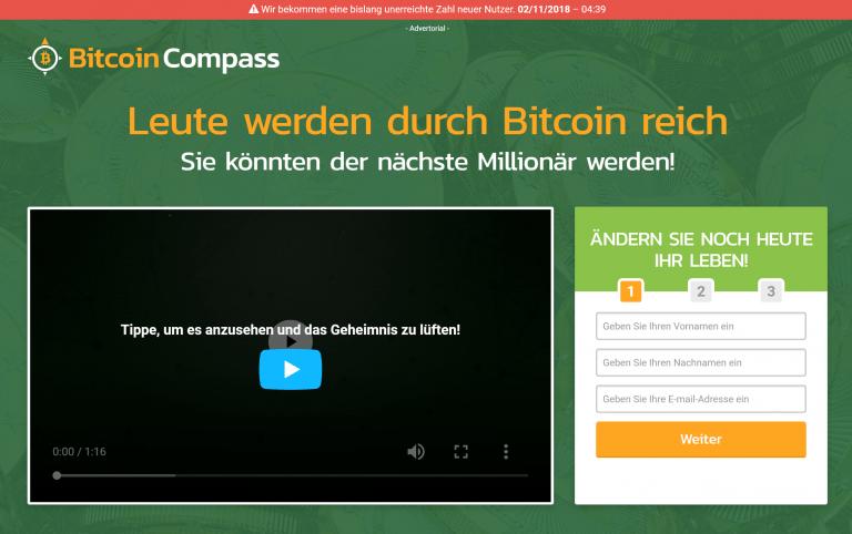 Bitcoin Compass Erfahrungen – Funktioniert Bitcoin Compass wirklich?