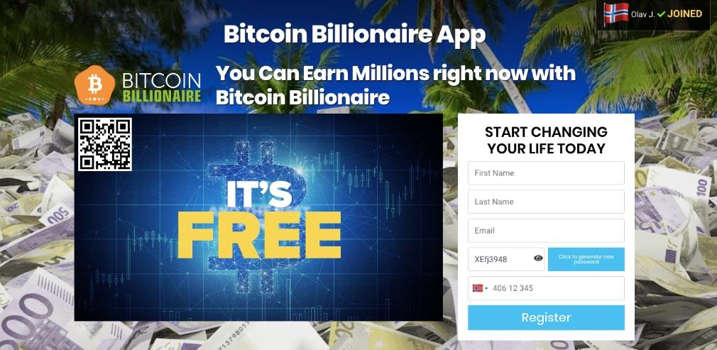 Bitcoin Billionaire Erfaringer