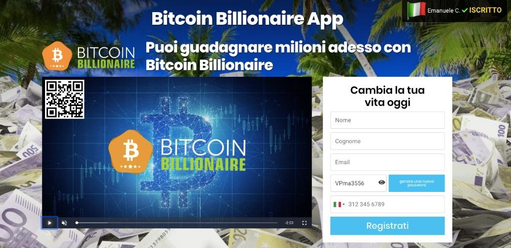 Bitcoin Billionaire Truffa