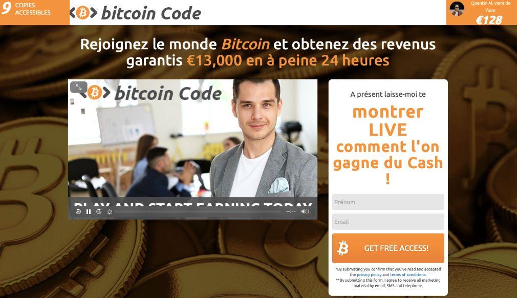 Bitcoin Code Avis