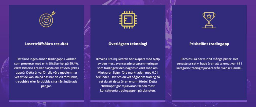 Bitcoin Era fördelar