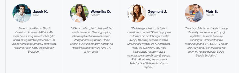 Bitcoin Evolution sukces
