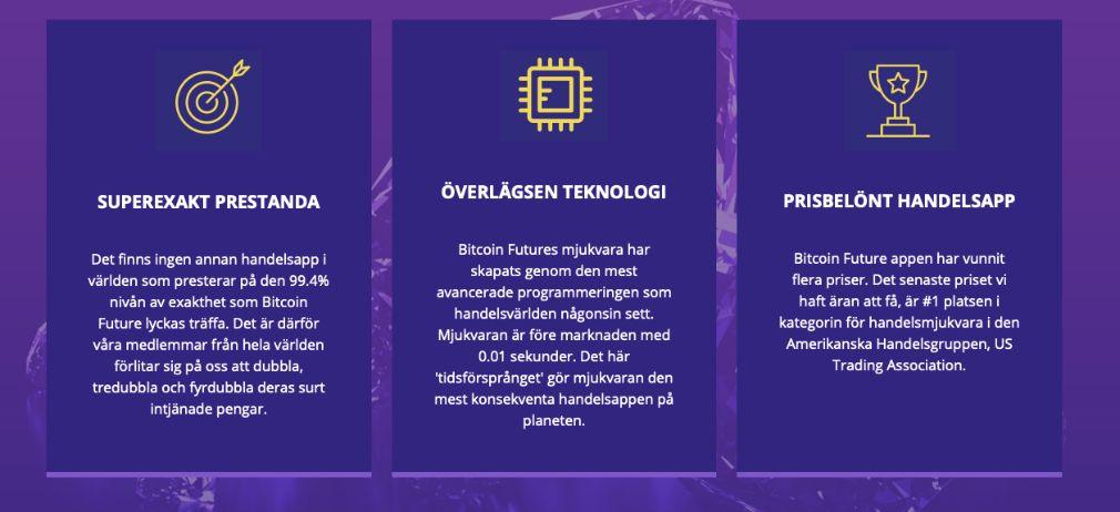 Bitcoin Future fördelar
