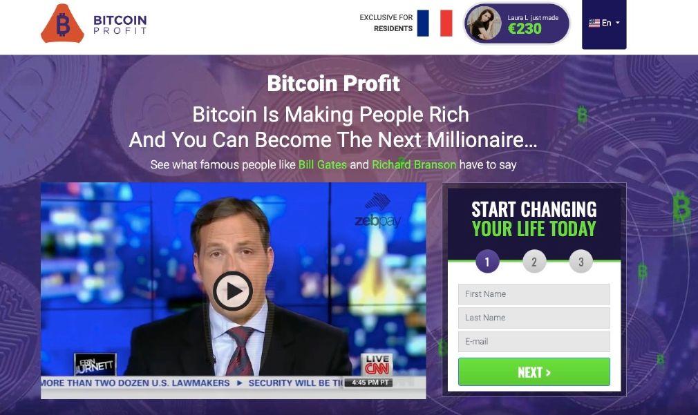 Bitcoin Profit Avis