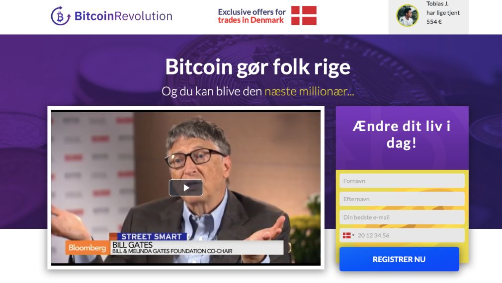 Bitcoin Revolution Anmeldelse
