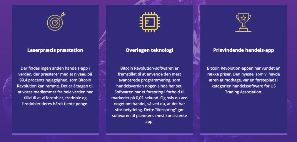 Bitcoin Revolution fordele