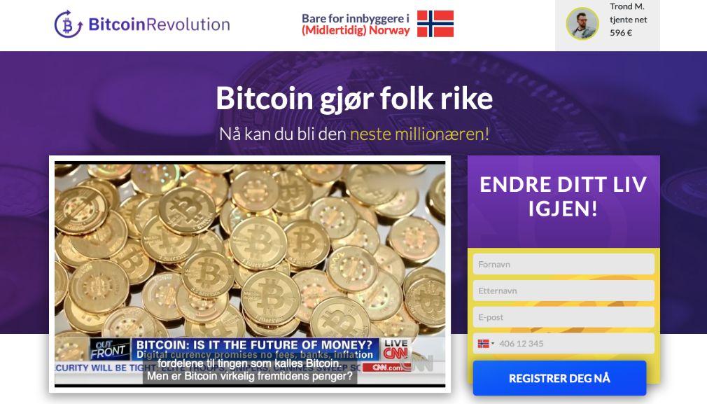 Bitcoin Revolution Erfaringer