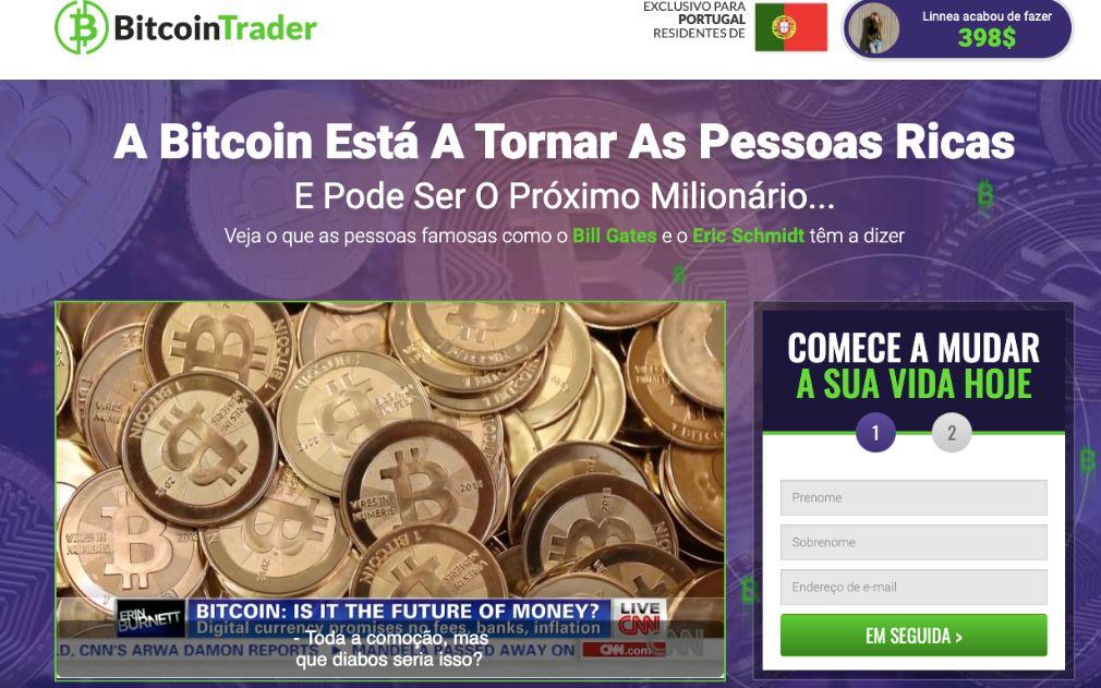 Bitcoin Trader Opiniões
