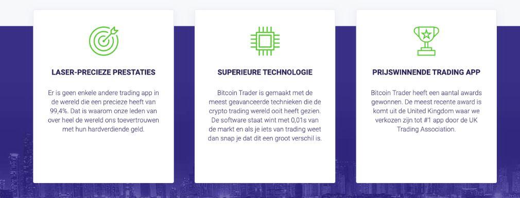 Bitcoin Trader voordelen