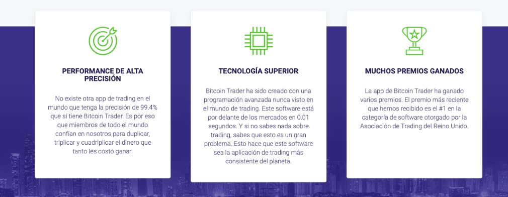 Crypto Trader beneficios