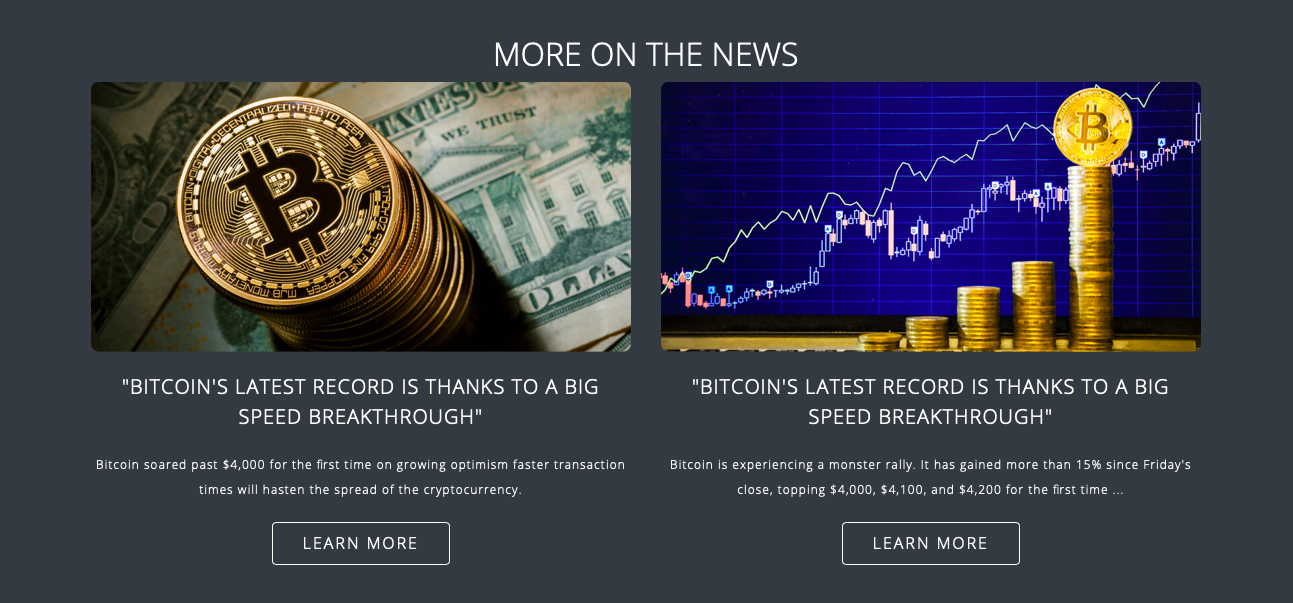 Bitcoin Loophole benefício