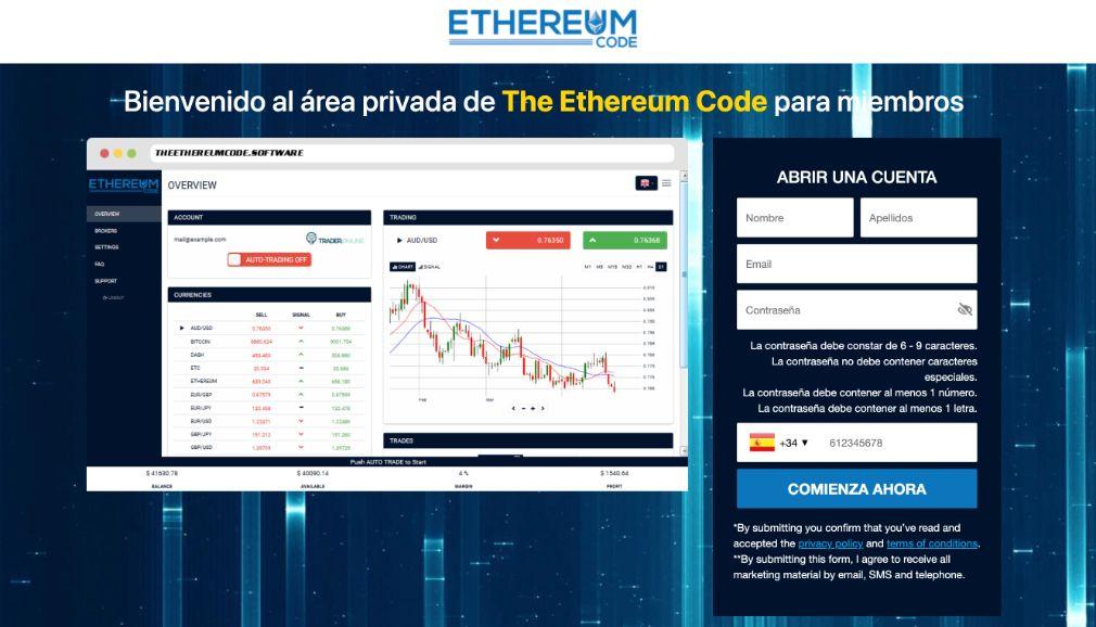 Ethereum Code Opiniones