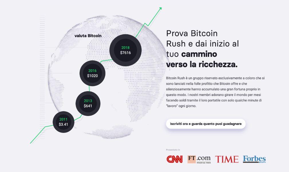 Bitcoin Rush successo