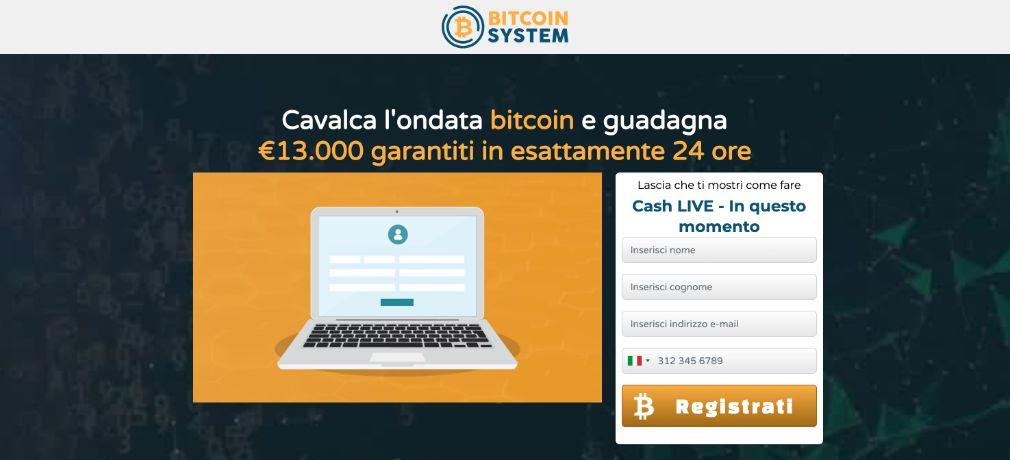 Bitcoin System Truffa