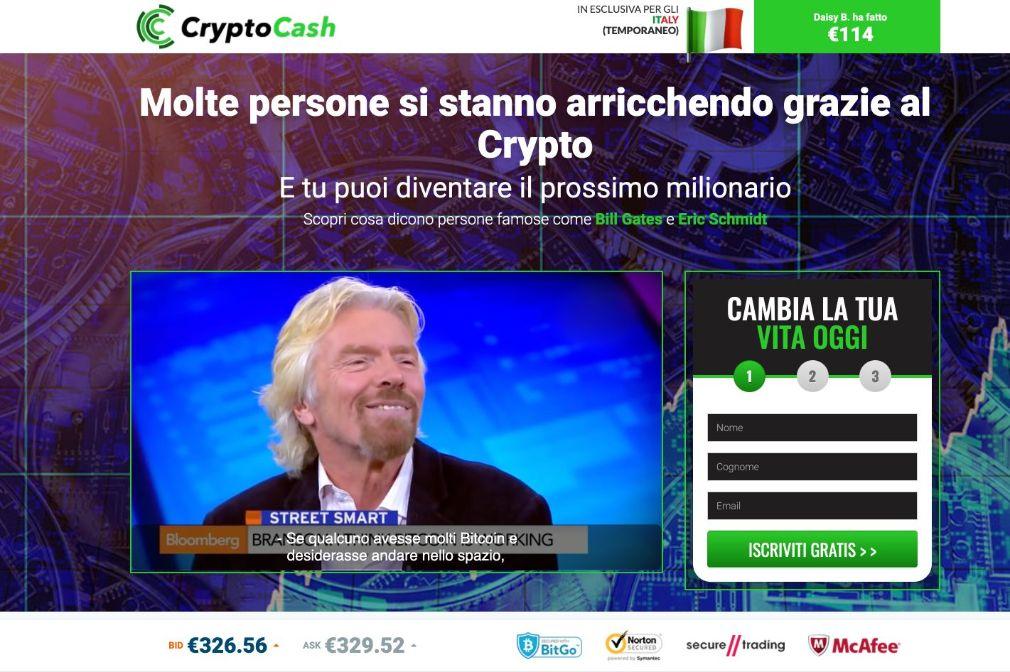 Crypto Cash Truffa