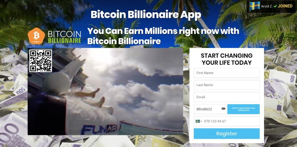 Bitcoin Billionaire Recension