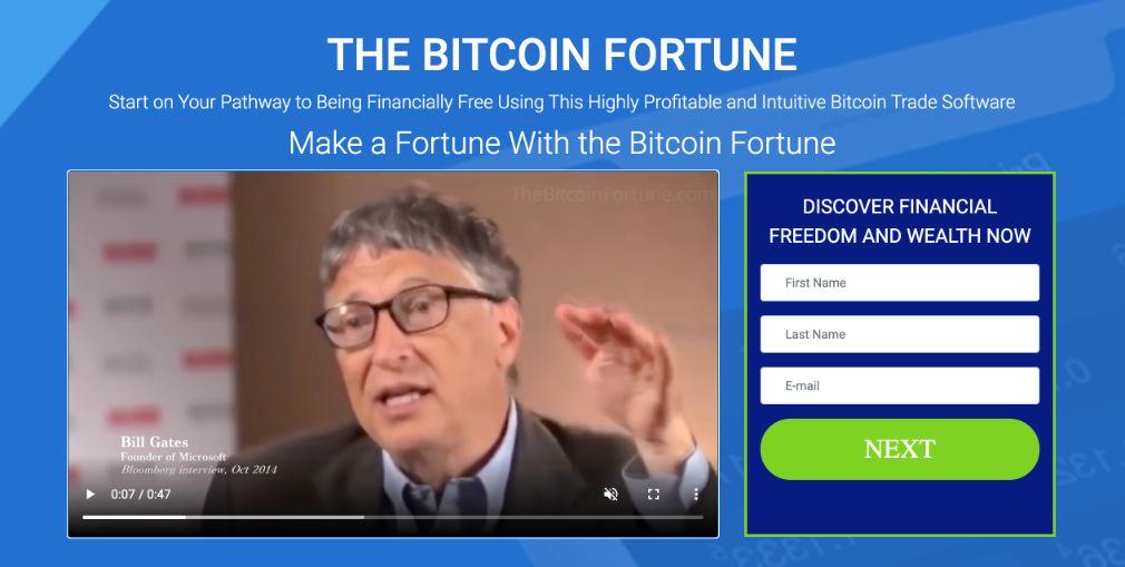 Bitcoin Fortune Truffa