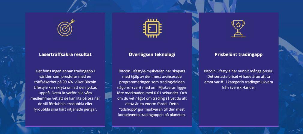 Bitcoin Lifestyle fördel