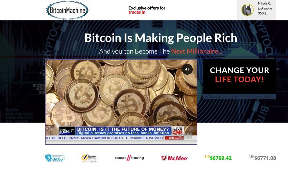 Bitcoin Machine Opiniones