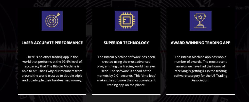 Bitcoin Machine Ventajas