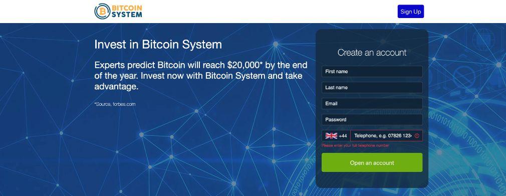 Bitcoin System Avis