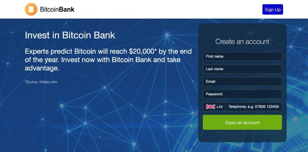 Bitcoin Bank Opiniões