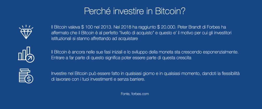 Bitcoin Bank benefici