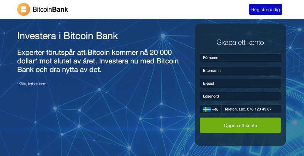 Crypto Bank Recension