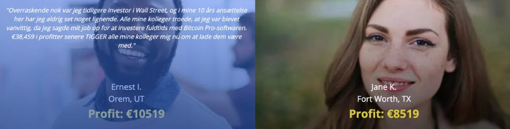 Bitcoin Pro succes