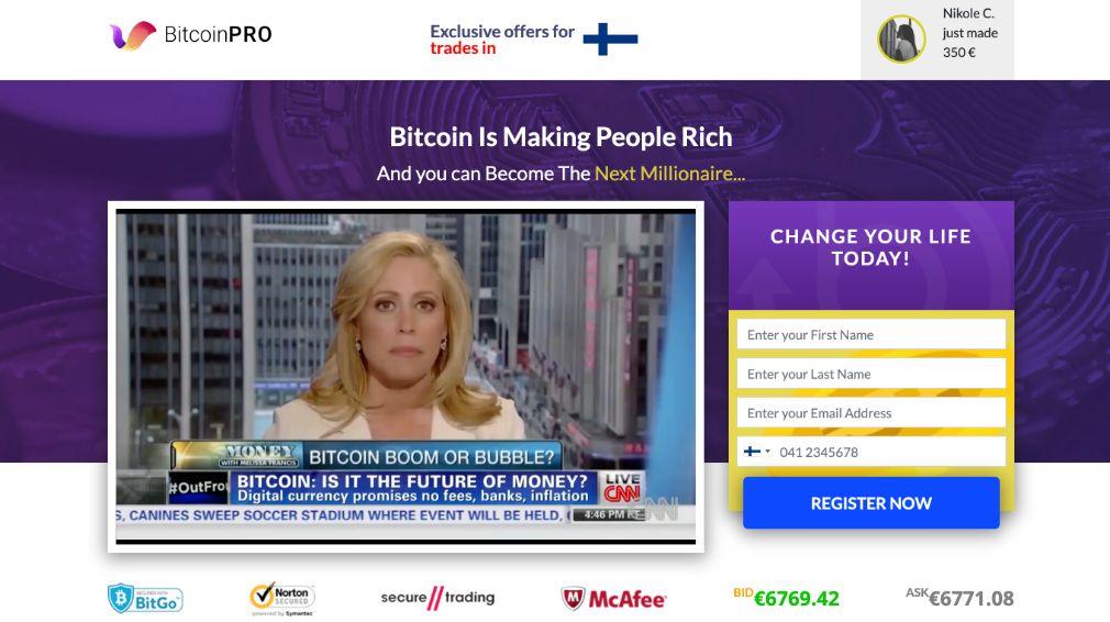 Bitcoin Pro Kokemuksia
