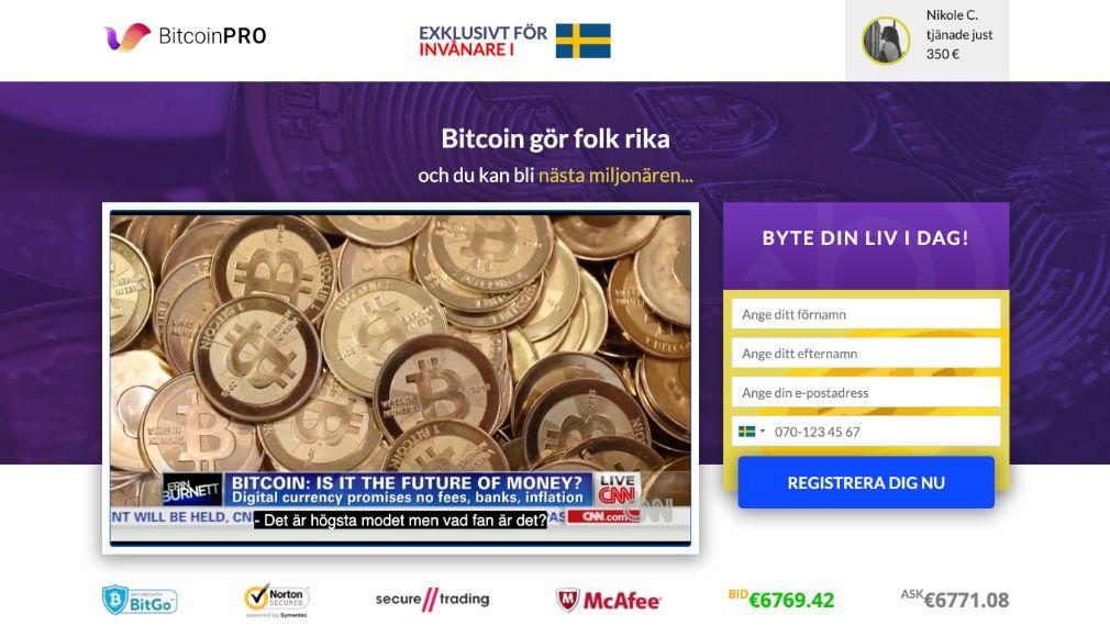 Bitcoin Pro Recension
