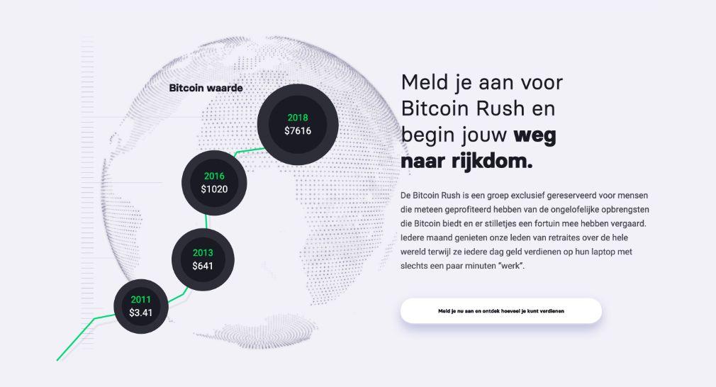 Bitcoin Rush Succes