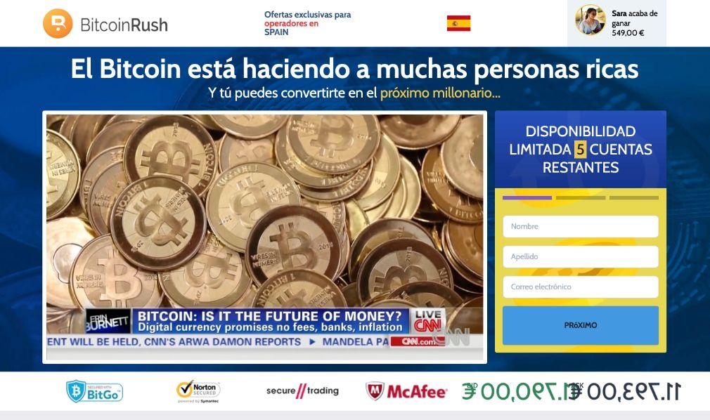Bitcoin Rush Opiniones