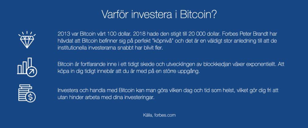 Bitcoin UP fördel