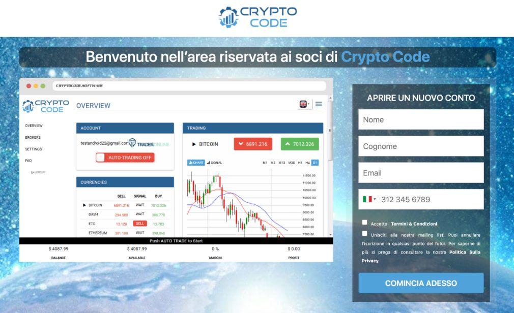 Crypto Code Truffa
