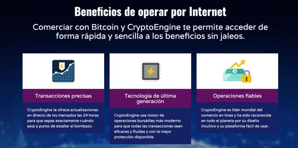 Crypto Engine Ventajas