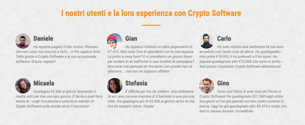 Cryptosoft framgång