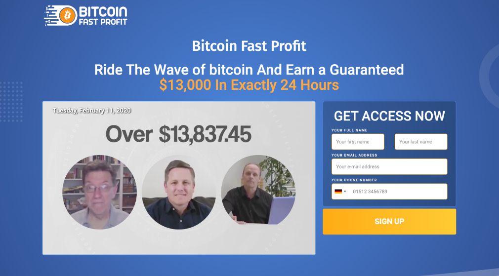 Bitcoin Fast Profit Erfahrungen – Funktioniert Bitcoin Fast Profit wirklich?