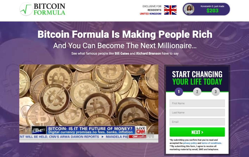 Bitcoin Formula Review