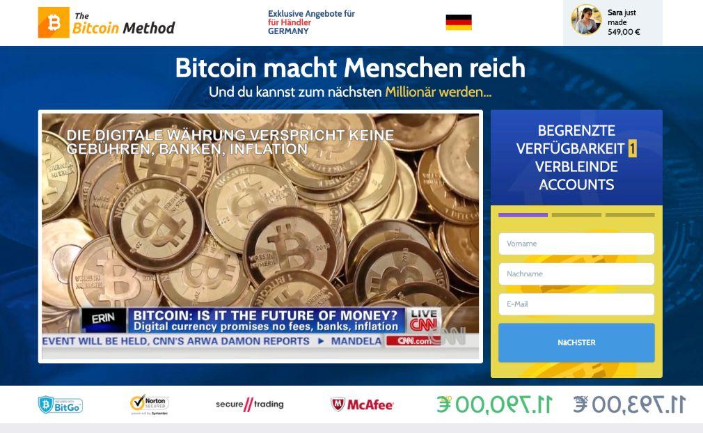 Bitcoin Method Erfahrungen – Funktioniert Bitcoin Method wirklich?