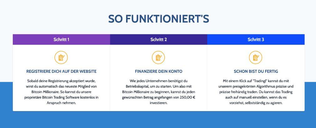 Bitcoin Millionaire wie es funktioniert