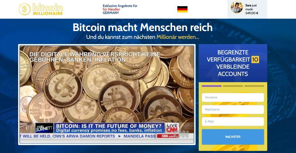 Bitcoin Millionaire Erfahrungen – Funktioniert Bitcoin Millionaire wirklich?