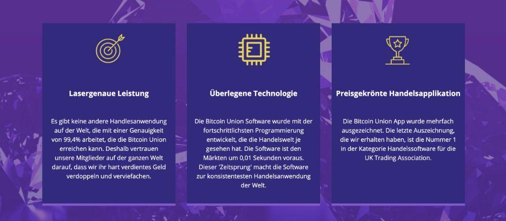Bitcoin Union Vorteile