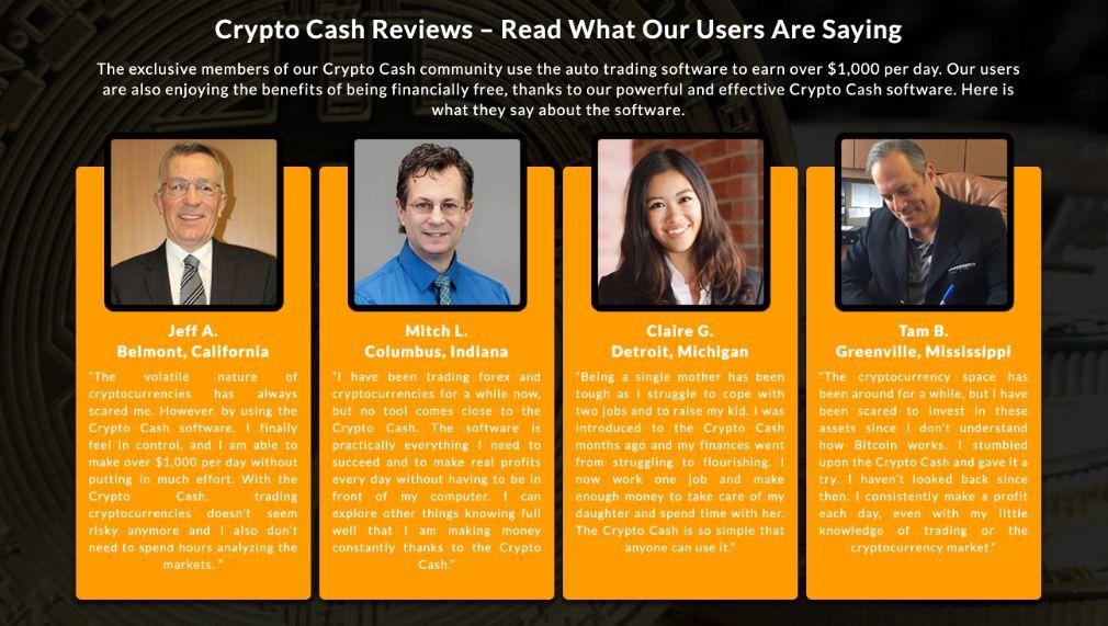 Crypto Cash success
