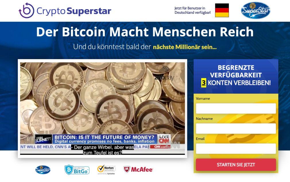 Crypto Superstar Erfahrungen – Funktioniert Crypto Superstar wirklich?