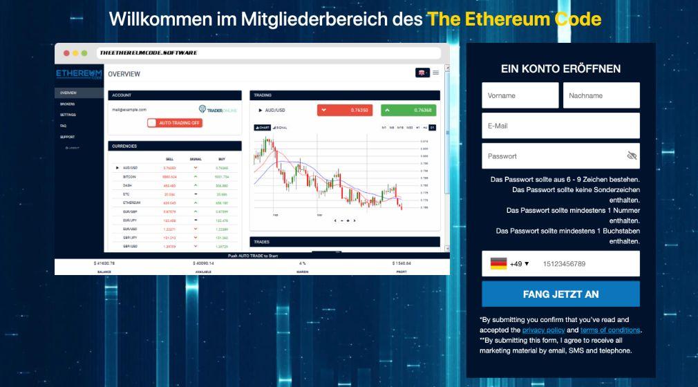 Ethereum Code Erfahrungen – Funktioniert Bitcoin Bank wirklich?