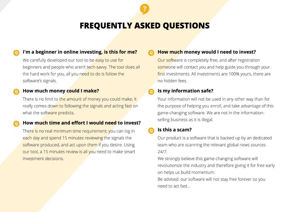 Bitcoin News Trader domande frequenti