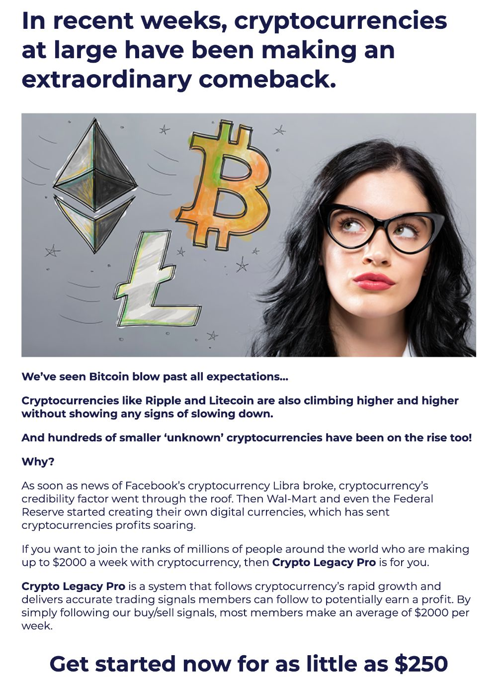 Bitcoin Legacy information